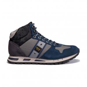 Sneaker alta navy/grigio Blauer