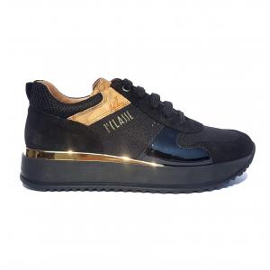Sneaker nera/geo beige 1a Classe