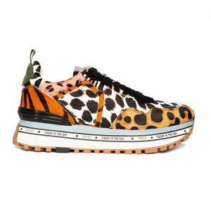 Sneaker animalier con fondo platform Liu Jo