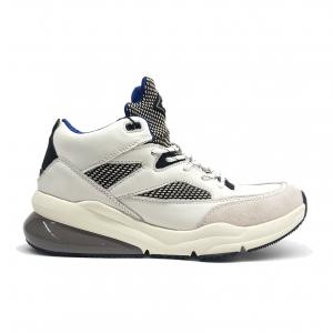 Sneaker bianca con suola alta Replay