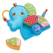 Puzzle in tessuto Mr. Elephant adatto ai bambini a partire dai 6 mesi Chicco