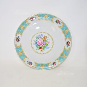 Piatto Ceramica Veneziano Fiori