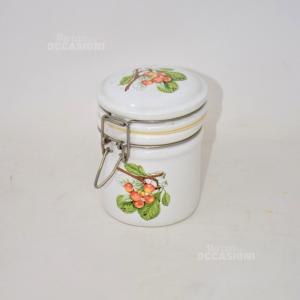 Vaso Ermetico Ceramica Bizzini Ciliegie