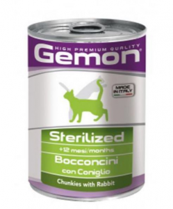 Gemon Cat Sterilized Coniglio