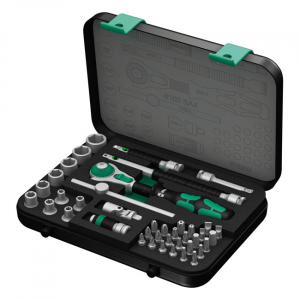 Wera 8100 SA 4 Zyklop Speed Ratchet kit 1/4 drive-US sizes