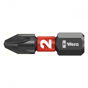 Wera 1/4 bit for Phillips screws Impaktor PH2
