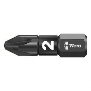 Wera 1/4 bit for Pozidriv screws Impaktor PZ2