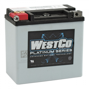 WESTCO, AGM BATTERY. 12V, 14AMP, 220CCA