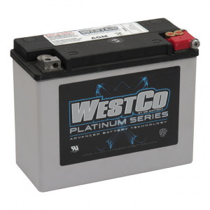 WESTCO, AGM BATTERY. 12V, 22AMP, 340CCA