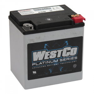WESTCO, AGM BATTERY. 12V, 30AMP, 400CCA