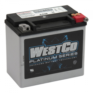 WESTCO, AGM BATTERY. 12V 19A