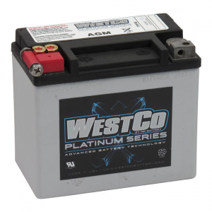 WESTCO, AGM BATTERY. 12V, 12AMP, 180CCA