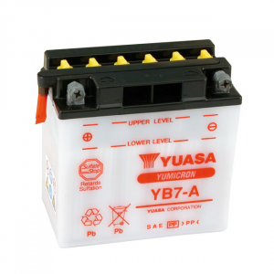 YUASA BATTERY YUMICRON 12V, 7A