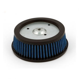 Blue Lightning, air filter element 00-15(NU)Softail; 99-07(NU)Dyna, Touring; 07-19 XL; all RSD Venturi air cleaner kits