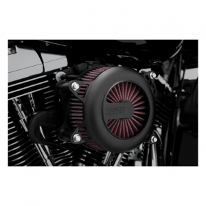 V&H VO2 Rogue air intake black00-15 Softail; 99-17 Dyna (excl. 2017 FXDLS); 02-07 FLT/Touring (NU)