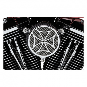 COBRA NAKED AIR CLEANER KIT CROSS01-15 Softail; 04-17 Dyna (excl. 2017 FXDLS); 02-07 FLT/Touring (NU)