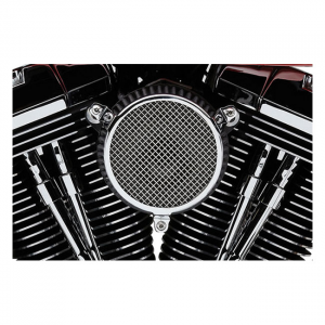 COBRA NAKED AIR CLEANER KIT PLAIN01-15 Softail; 04-17 Dyna (excl. 2017 FXDLS); 02-07 FLT/Touring (NU)