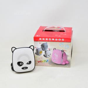 Radiolina A Forma Di Panda Furioso