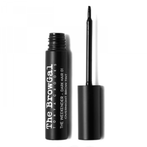 The BrowGal The Weekender Overnight Brow Tint 01 Dark Hair