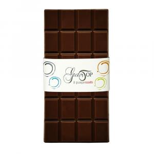 Tavoletta di Cioccolato fondente al 72% confezione da 80 gr