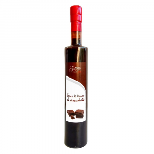 Chocolate liqueur cream, available in 20 cl and 50 cl sizes, tasty cream of low alcohol contented cacai