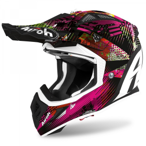CASCO MOTO CROSS AIROH AVIATOR ACE INSANE MATT 2020 AVAI54