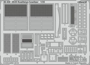 2S35 Koalitsiya howitzer