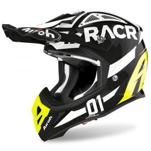 CASCO MOTO CROSS AIROH AVIATOR ACE RACR GLOSS 2020 AVARA17