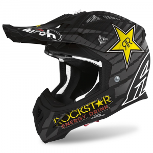 CASCO MOTO CROSS AIROH AVIATOR ACE ROCKSTAR 2020 AVARK35