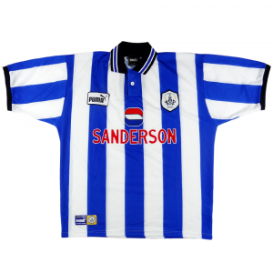 1997-99 Sheffield Wednesday Maglia Home L (Top)