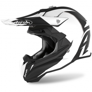 CASCO MOTO CROSS AIROH TERMINATOR SLIDER BLACK MATT 2020 TOVS17