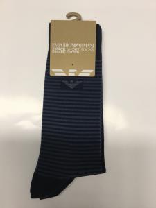 Bi-pack calze uomo 3/4  Emporio Armani organic