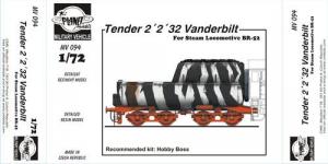 TENDER 2'2'32 VANDERBILT