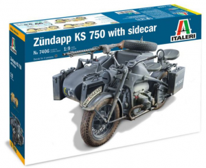 ZUNDAPP KS 750 with Sidecar