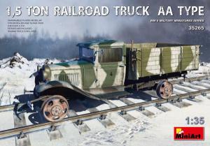 1,5 TON RAILROAD TRUCK AA TYPE