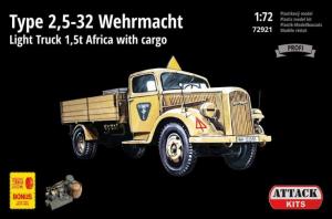 Opel Blitz (Type 2,5-32) Wehrmacht 1,5t