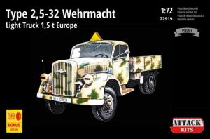 Type 2,5-32 Wehrmacht 1,5t