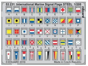 International Marine signal flags