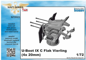 U-Boot IX Flak-Vierling Conversion, for Revell kit