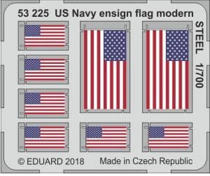 US Navy ensign flag modern STEEL