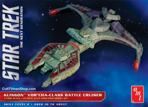 Star Trek Klingon Vor'cha The Klingon Vor'cha-class battle cruiser