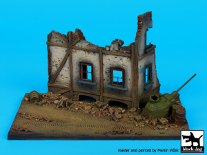 Street with house ruin base No.2