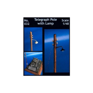 TELEGRAPH POLE WITH LAMP
