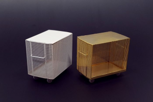 Wire mesh container (2pcs)