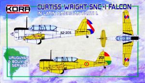 Curtiss Wright SNC-1 Falcon Latin America Pt.I
