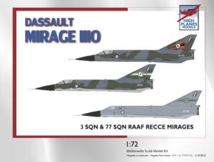 DASSAULT MIRAGE IIIO RAAF 3 & 77 SQN RECCE