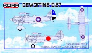 Dewoitine D.27 Asian Service (3x camo)