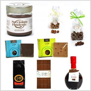 Confezione regalo media, simpatica e gustosa idea regalo per tutte le occasioni. Idee regalo n. 2