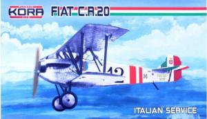 Fiat C.R.20 Italian Service (4x camo)