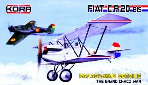 Fiat C.R.20 bis Paraguyan Service Chaco War
